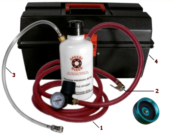 Speedi-Bleed Bleeder Kit - Pro